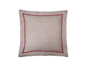 red striped cushion birdie fortesque