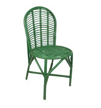 green rattan garden chair birdie fortesque