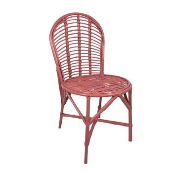 pink rattan garden chair birdie fortesque
