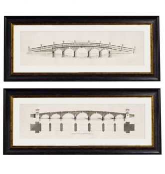 C.1756 Architectural Elevations of Bridges