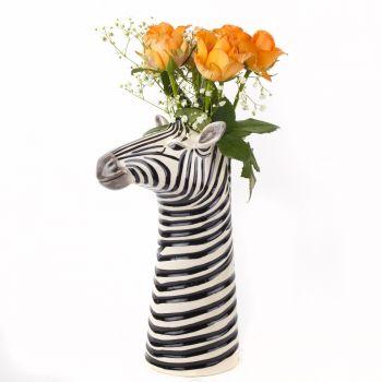 Rhino Flower Vase Quail Ceramics